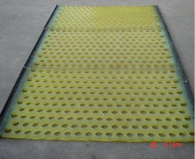 圆孔聚氨酯筛网
